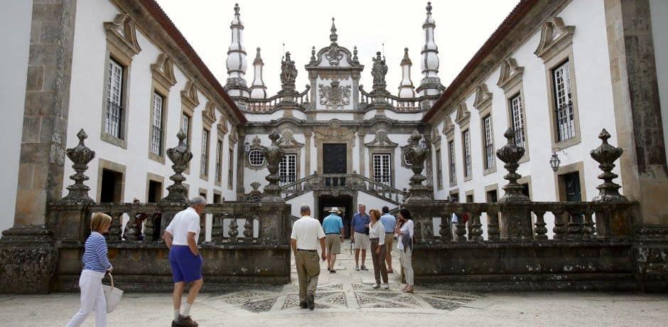 Palacio de Mateus, the winemaking family's Baroque palace, in Vila Real. Photo courtesy of Miguel Ribeiro Fernandes/Alexandre Vaz.