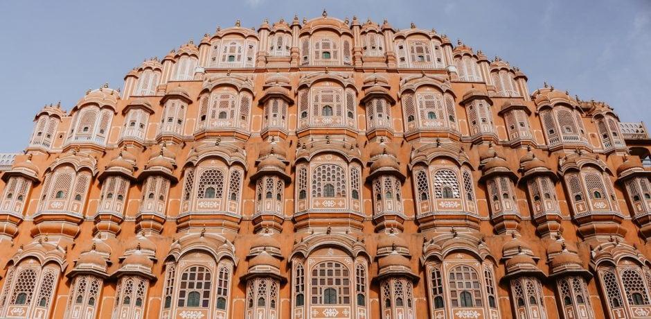 Jaipur's Hawa Mahal. Courtesy Ibrahim Rifath