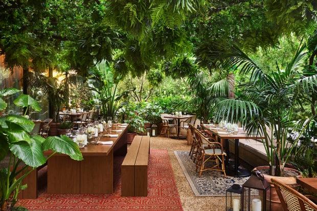 The terrace at Ardor, Courtesy West Hollywood EDITION