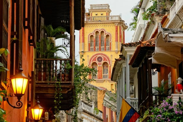 Cartagena is safe and welcoming to solo travelers—and full of charming side streets to explore!