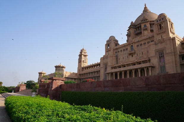 Jodhpur's Umaid Bhawan Palace. Courtesy Charlotte Moss