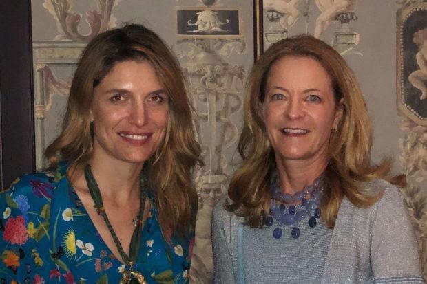 Martina Mondadori and Melissa Biggs Bradley