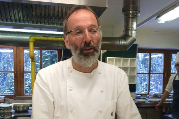 Rosa Alpina Chef Norbert Riedflokler