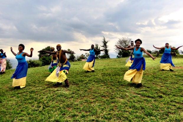 Dancers in Rwanda. Courtesy Marina Purcell.