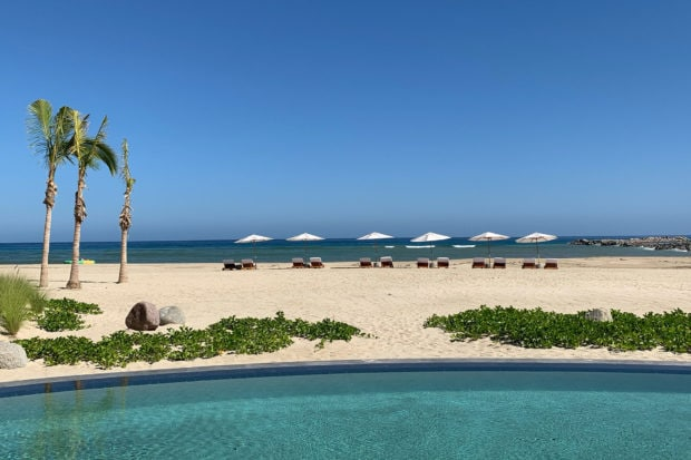 A pool at Four Seasons Los Cabos at Costa Palmas. Courtesy Indagare's Rose Allen