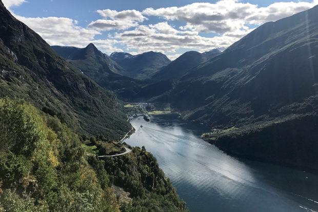Geirangerfjord in Norway. Courtesy Indagare