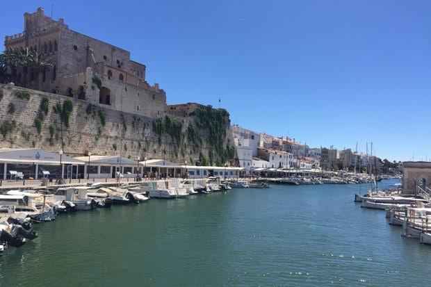 The harbor in Menorca, Spain. Courtesy Indagare