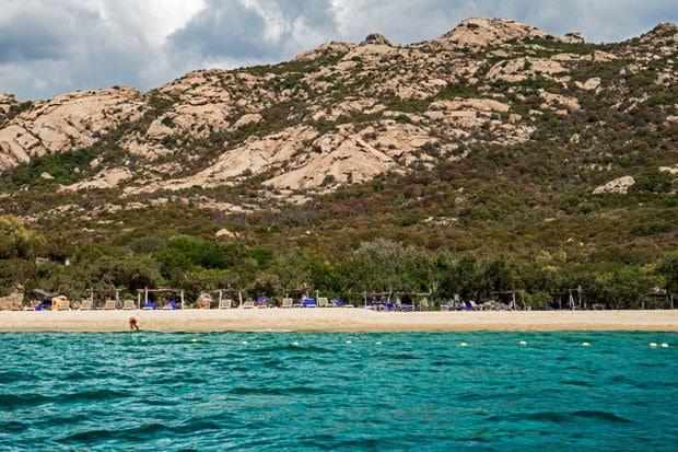 The beach in Corsica. Courtesy Indagare