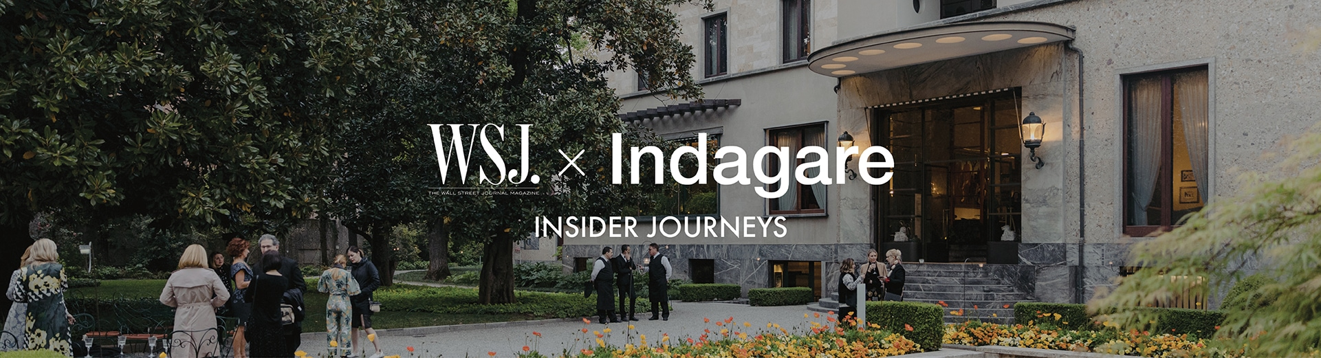 wsj magazine x indagare insider journeys