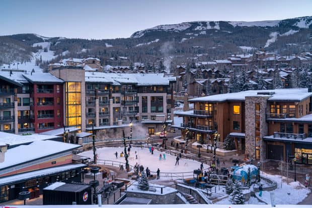 Snowmass Base Village continues to solidify its status as a vibrant hub by Aspen. Photo by David Clifford courtesy Snowmass Base Village