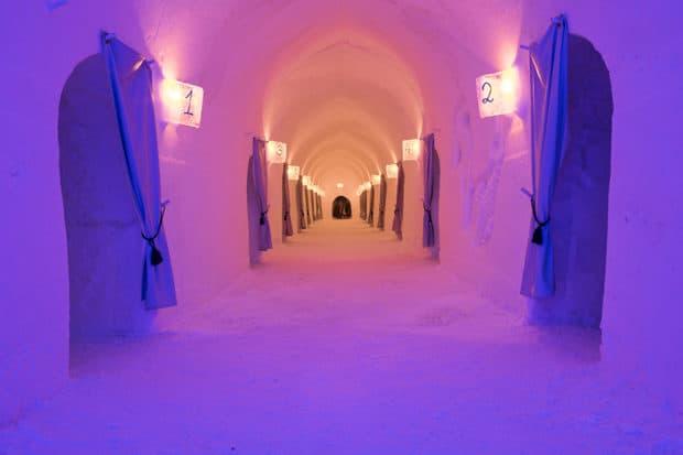 Inside the massive halls of Norway's Sorrisniva. Courtesy Sorrisniva