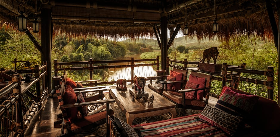 River views; Courtesy Four Seasons Tented Camp Golden Triangle