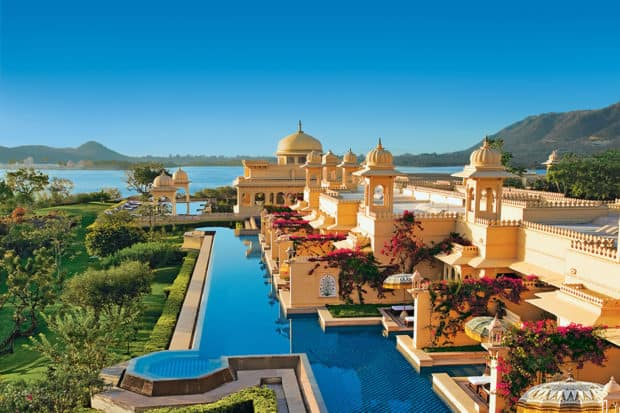 Oberoi Udaivilas, Udaipur, India, Courtesy Oberoi Hotels & Resorts