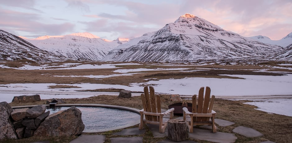 Views from Deplar Farm in Iceland