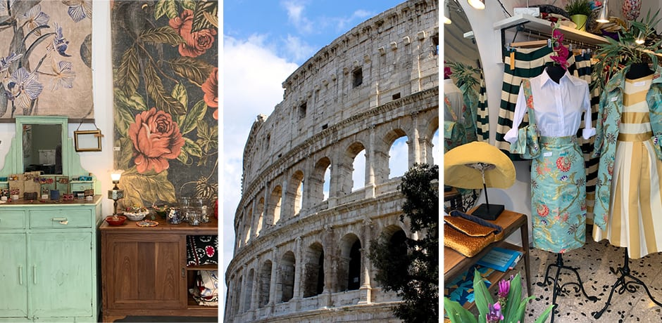 Rome's Estremi; Colosseum; Tina Sondergaard