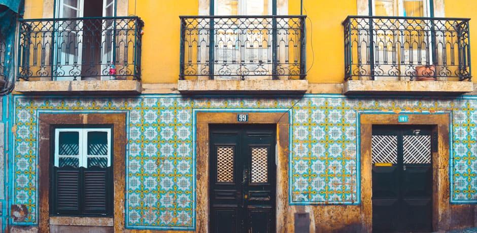 Colorful Lisbon, Courtesy Diego García