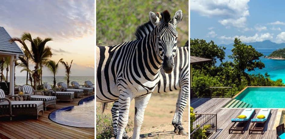 Courtesy Thanda Island; Four Seasons Seychelles
