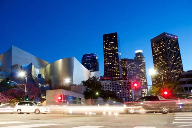 Downtown Los Angeles, Courtesy Jeremy Bishop