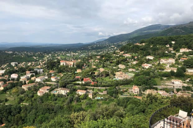 A view in Provence, France
