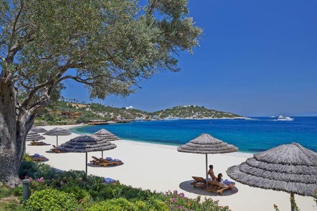 Blue Beach, Courtesy Mandarin Oriental, Bodrum
