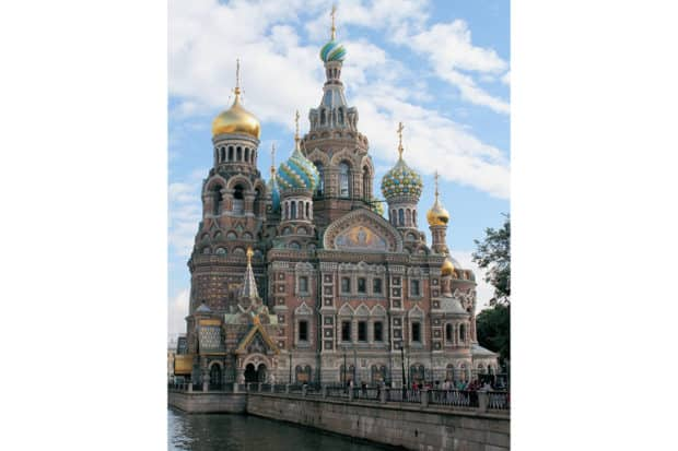 St. Petersburg's Church of the Savior on Spilled Blood.