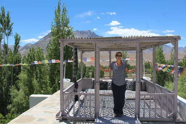 Eliza in Ladakh