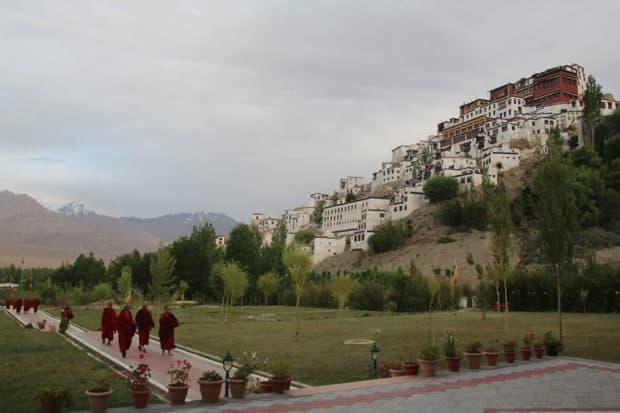 Monks in Ladakh