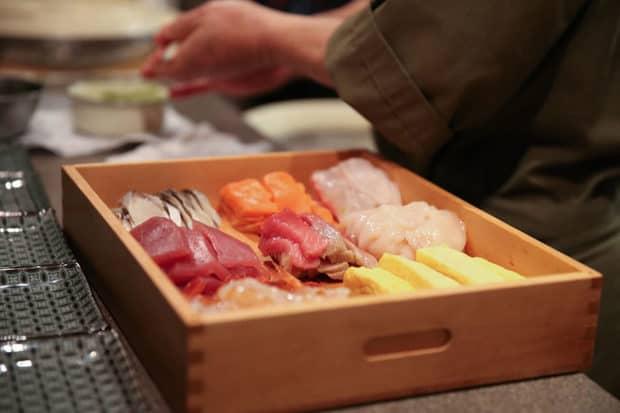 Fresh sashimi. Photo by Niseko United