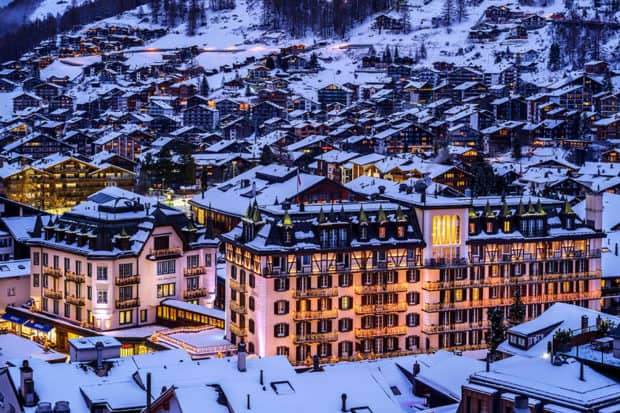 The Mont Cervin Palace Hotel (Le Petit Cervin)