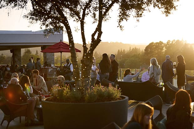 Archer Hotel Napa rooftop