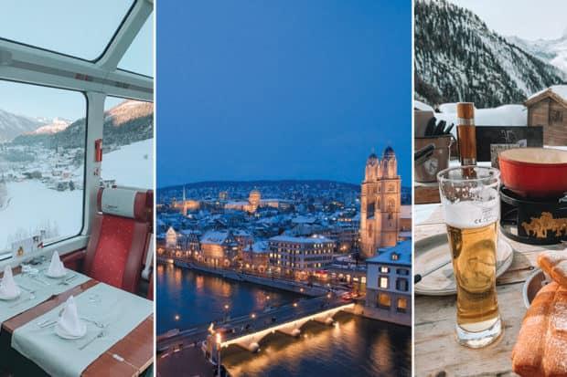 The Best of Switzerland: A Taste of Zurich, St. Moritz, Zermatt and Geneva