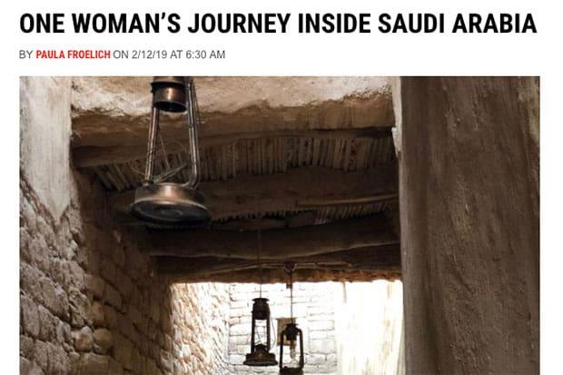 One Woman's Journey Inside Saudi Arabia