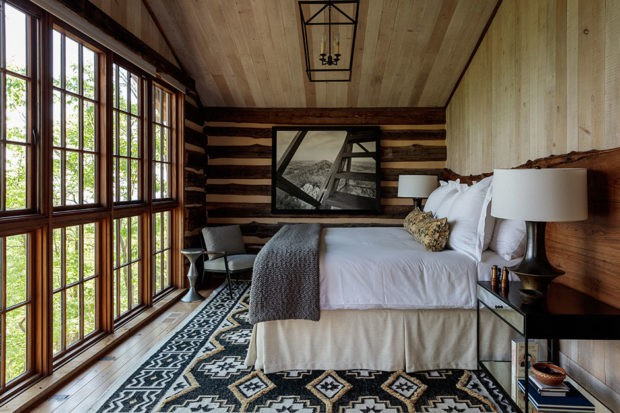 A room at Blackberry Mountain, photo by Ingalls Photography