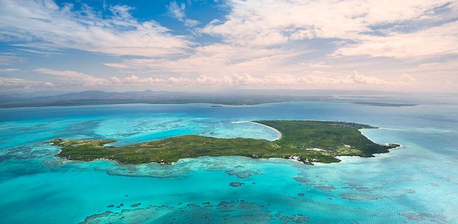 Nosy Ankao island, home to the Miavana resort. Courtesy of Time + Tide Miavana.