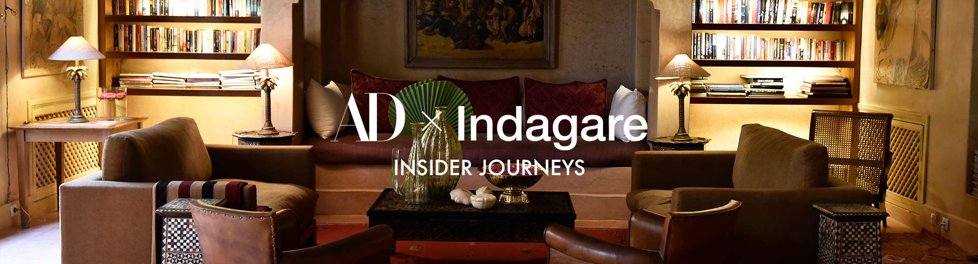 architectural digest x indagare insider journeys