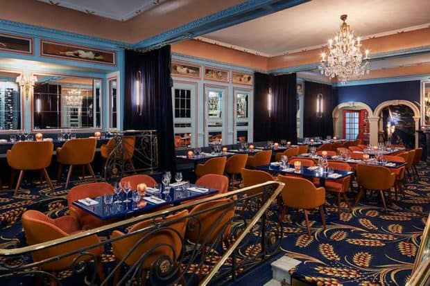 The dining room at Froufrou, Courtesy Francis Amiant