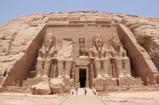 Abu Simbel temples, courtesy Indagare member Jason Storm