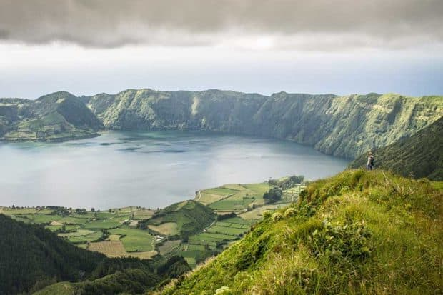 São Miguel Island, the largest island in the Azores