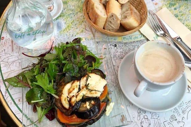 Lunch and coffee at Café de Flore