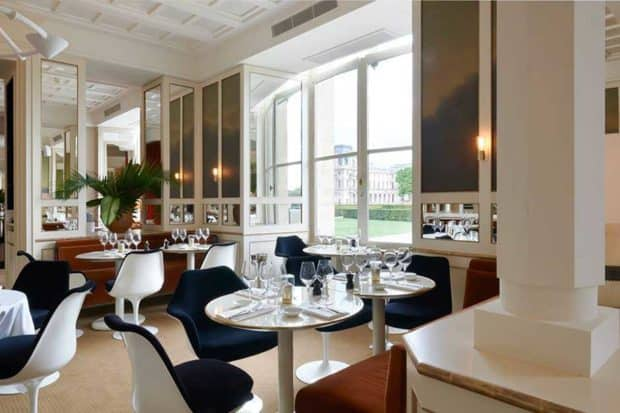The dining room at Loulou