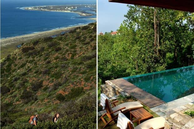 The Ranch at Live Oak, California and the Ananda Spa in the Himalayas