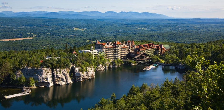 Summer at Mohonk. Courtesy Mohonk Mountain House