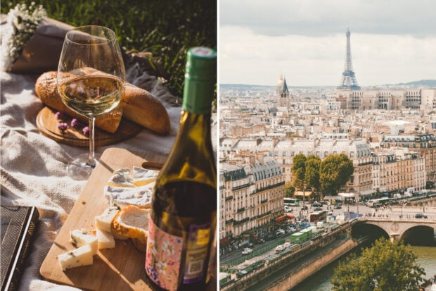 From left: A classic French spread, photo by Alexandra K.; summer in Paris, photo by Ilnur Kalimullin
