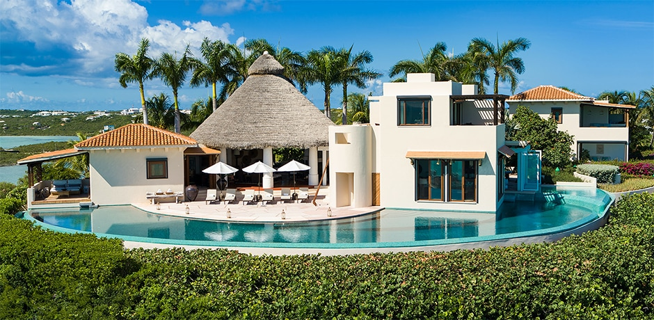 A vacation rental in Turks & Caicos. Photo by Gary James courtesy In Villas Veritas