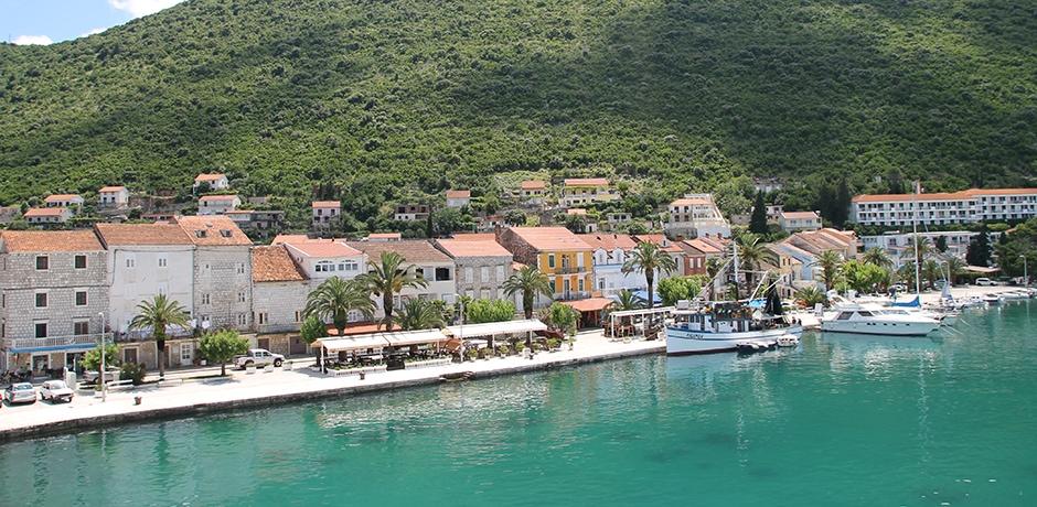 Croatia's coastline