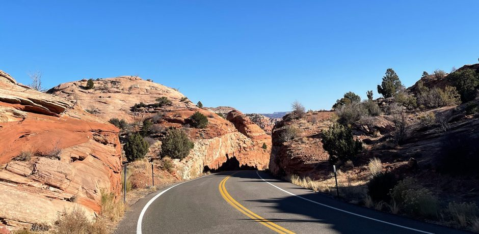 On a road trip in Utah. Courtesy Indagare