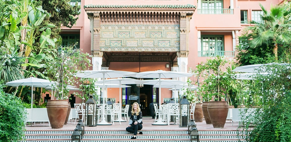 This Mother's Day, sign your mom up for the chance to join Indagare Founder Melissa Biggs Bradley in Marrakech (above) for a live virtual trunk show with style maven and hotelier Meryanne Loum-Martin.