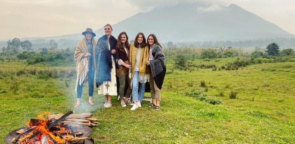 Members of the Indagare team in Rwanda, 2021