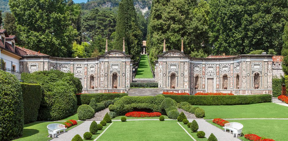 At Villa d'Este, Lake Como. Photo courtesy Villa d'Este.