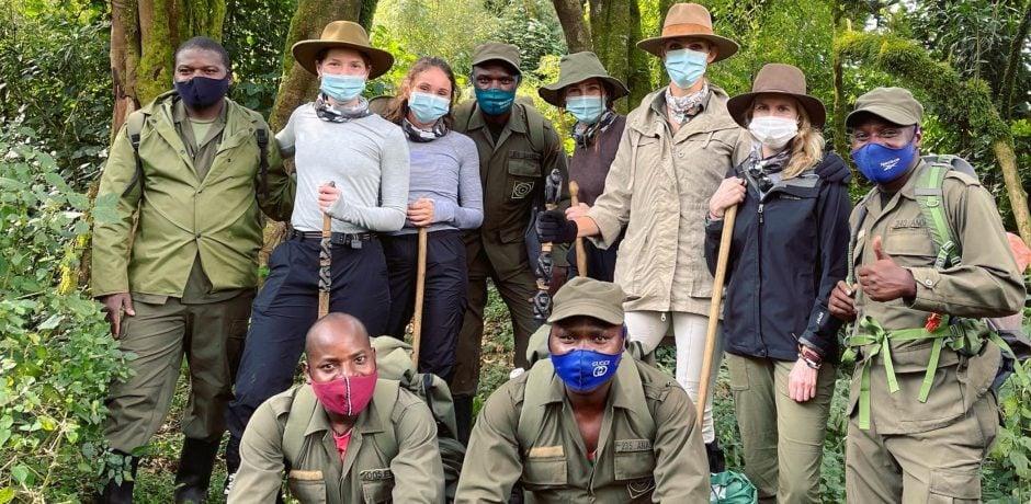 Members of the Indagare Team scouting in Rwanda this year.